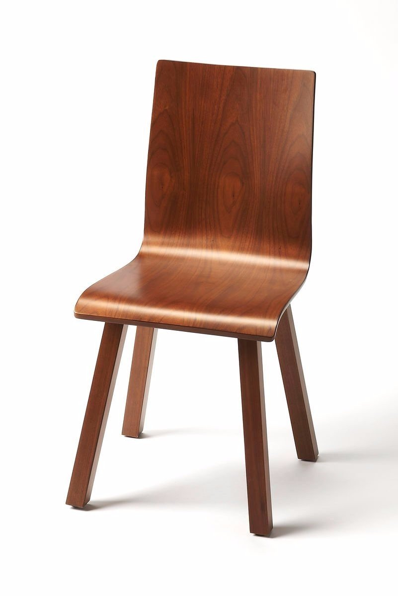 Ambiant Transitional SIDE CHAIR Dark Brown by Ambiant