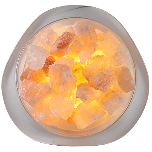 LIFE Home Serenity Himalayan Salt LED Lamp, Natural Crystal Air Purifier and New eBay