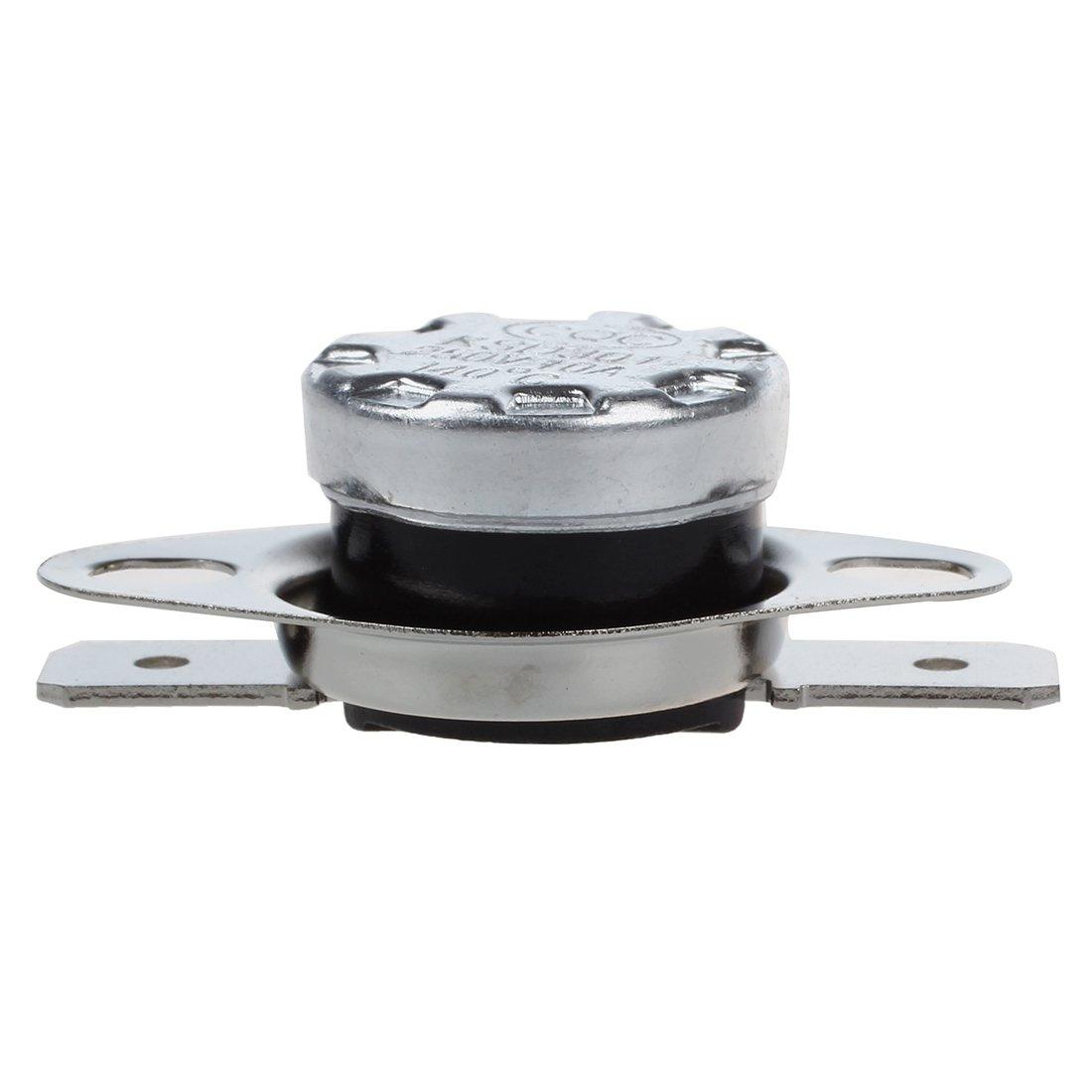 Interruptor de termostato - SODIAL(R) 2 piezas 140 Celsius Interruptor de termostato cerrado normal KSD301