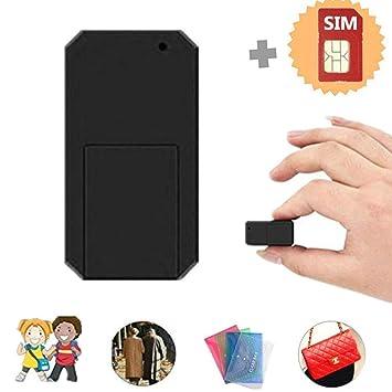 Hangang Mini GPS Tracker con targeta SIM Anti Thief Mini en ...