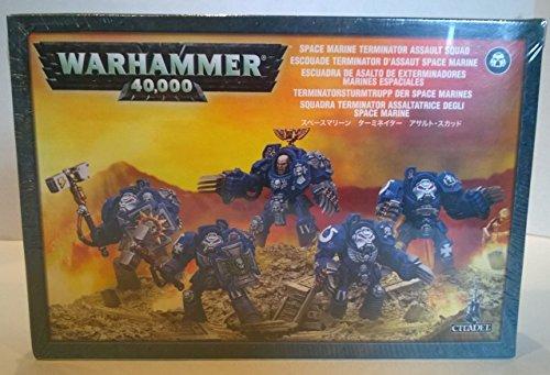 Warhammer 40,000 - Space Marine Terminator Assault Squad