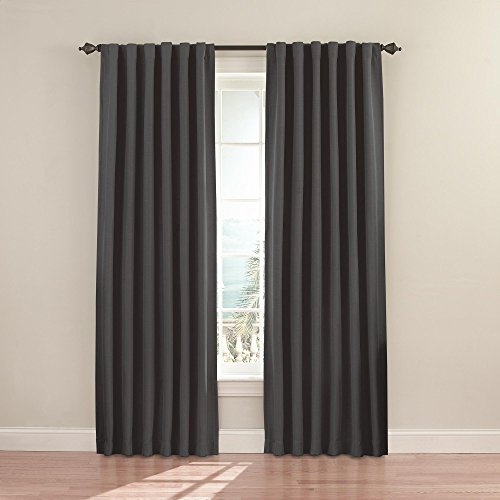 Eclipse Fresno Blackout Window Curtain Panel, 52 x 84-Inch,