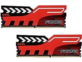 GeIL Forza 16GB (2 x 8GB) 288-Pin DDR4 SDRAM DDR4 2400 (PC4 19200) Memory Model GFR416GB2400C16DC