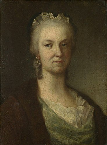 The High Quality Polyster Canvas Of Oil Painting 'After Rosalba Giovanna Carriera Rosalba Carriera ' ,size: 8 X 11 Inch / 20 X 28 Cm ,this High Quality Art Decorative Canvas Prints Is Fit For Basement Gallery Art And Home Gallery Art And