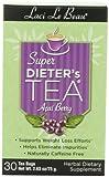 Natrol Laci Le Beau Super Dieter's Tea, Acai Berry, 30-Count