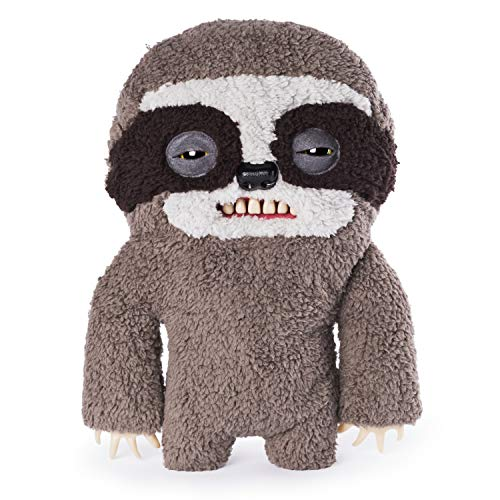 """Fuggler Spin Master Funny Ugly Monster Deluxe Stuffed Animal 12"""" Large Plush (Sickening Sloth)"""