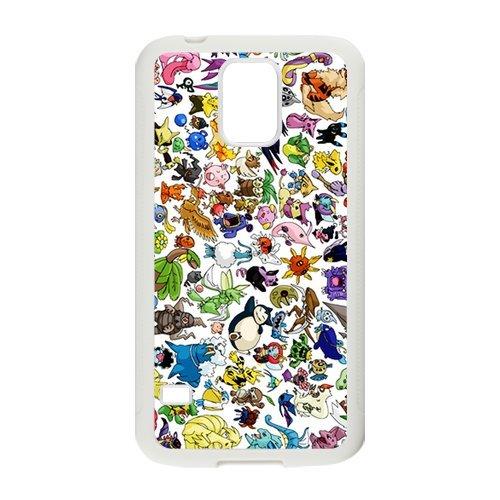 Pokémon Diseño Funda de silicona para Samsung Galaxy S5 ...