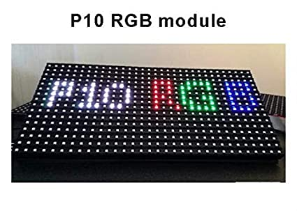 PixelDiode P10 Outdoor Full Color LED Display Module - 32x16