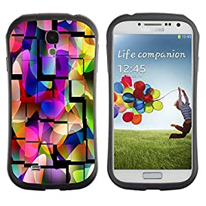 Suave TPU GEL Carcasa Funda Silicona Blando Estuche Caso de protección (para) Samsung Galaxy S4 I9500 / CECELL Phone case / / Tiles Mosque Colorful Pattern Purple /