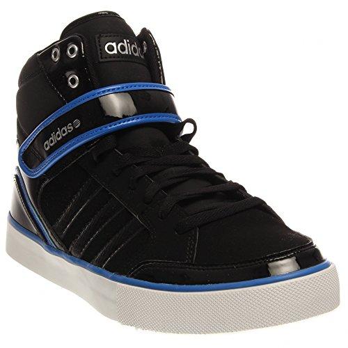 adidas NEO Men's City Mid Lifestyle Basketball Sneaker, Core Black/Black/Matte Silver, 11 M US