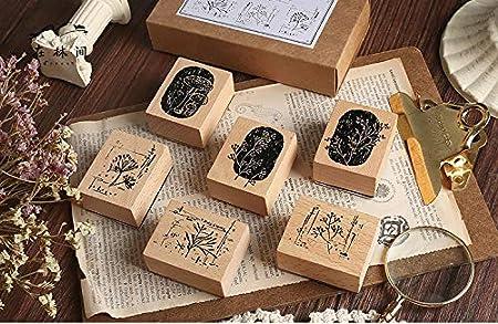 Cliocoo M-26 Juego de sellos de goma 16 unidades