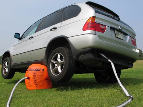 GATO INFLABLE HINCHABLE 4 TONELADAS PARA 4X4, SUV... + ...