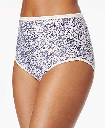 (Vanity Fair Women's Illumination Brief Panty 13109, Tranquil Lace Print, Medium/6)