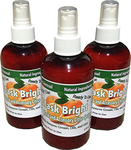 Mask Bright CPAP Mask Cleaner. Pump Spray 3 Pack