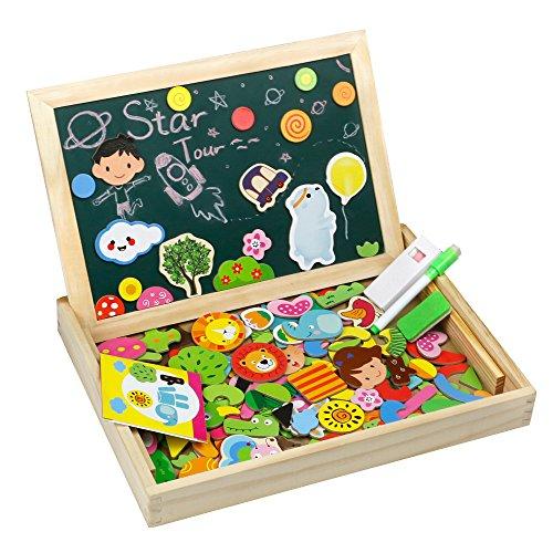 b73b02530b Tonze lavagna magnetica bimbi lavagnetta legno montessori giochi ...