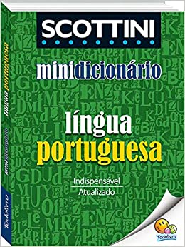72a90b51f9 Scottini - Minidicionário  Língua portuguesa - 9788537600320 - Livros na  Amazon Brasil