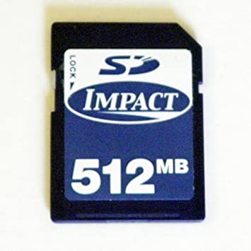 Amazon.com: Impacto 512 MB tarjeta SD: Computers & Accessories