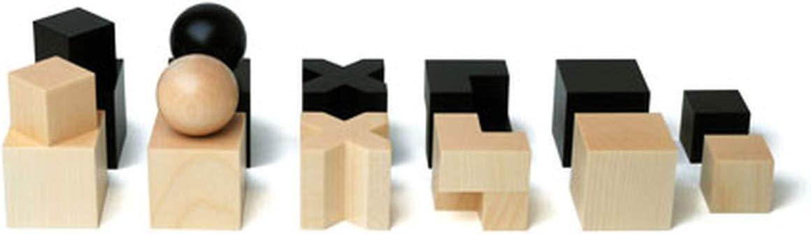 Juegos de mesa Naef - Juego de figuras de ajedrez Bauhaus: Amazon.es: Hogar