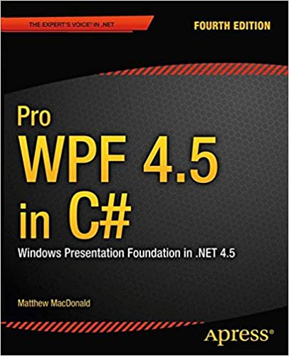 Pro WPF 4.5