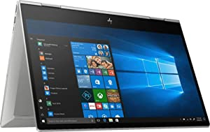 "Newest HP Envy x360 2-in-1 Laptop, Intel Quad-Core i7-8565U, 15.6"" FHD IPS Touchscreen, 8GB DDR4, 512GB PCIe SSD+32GB Optane, Backlit Keyboard Fingerprint Reader HDMI USB-C WiFi BT 5.0 Win10 (Renewed)"