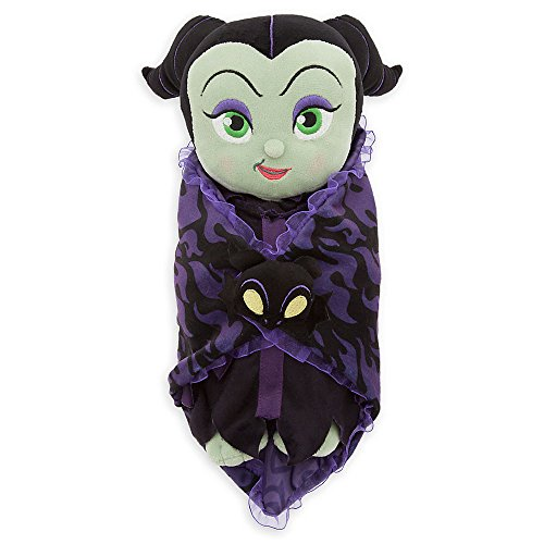 Disney Babies Maleficent Plush Doll & Blanket 11.5 Inch (Maleficent Headdress)