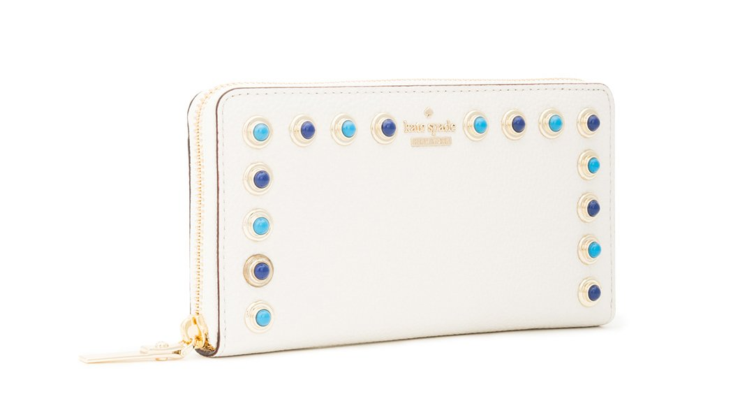 Kate Spade New York devoe street studded lacey, cement multi