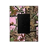 camouflage picture frame - CafePress - Oak On Pink Camo - Decorative 8x10 Picture Frame