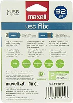 Maxdata High-Speed USB Flix 32 GB Flash Drive 503804