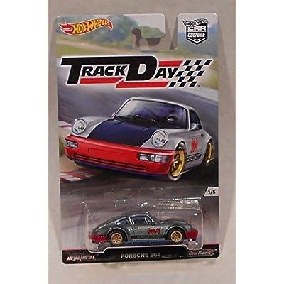 Hot Wheels Track Day Porsche 964 1:64 Die Cast Vehicle 1/5: Toys & Games [5Bkhe0502307]