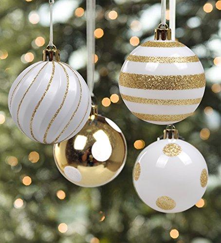 KI Store Christmas Ball Ornaments Shatterproof Tree