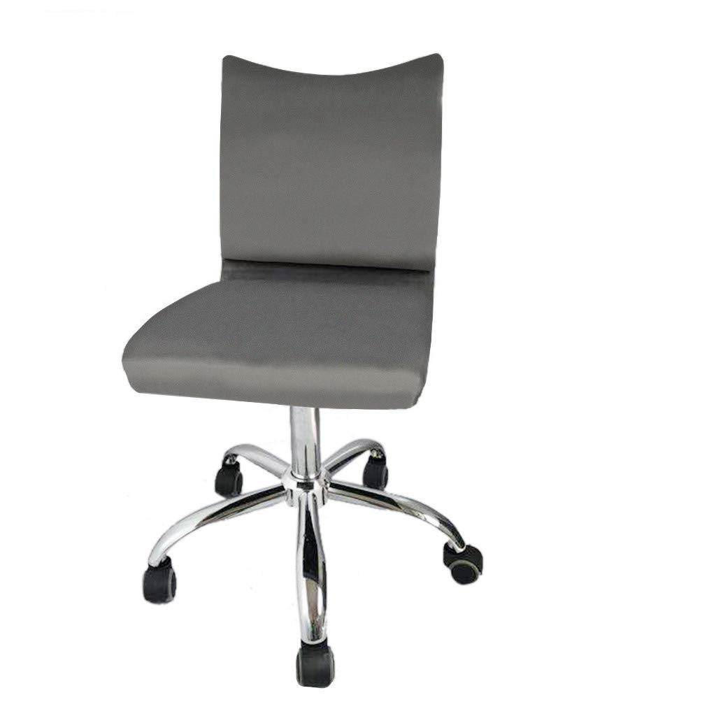 Jeeke Office Chair Leather Desk Gaming Chair with Massage Function Computer Chair Rolling Swivel Adjustable Stool Executive Chair for Workers & Students,Gray, Ship from USA (C) by Jeeke