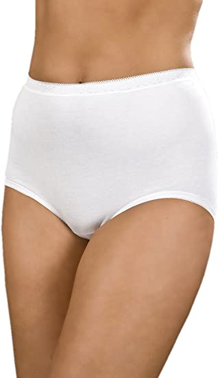 Womens La Marquise Comforts Lace Maxi Briefs 3 Pack Underwear