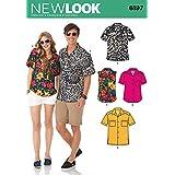 Simplicity Creative Patterns New Look 6197 - Patrones de Costura para Camisetas de Mujer y Hombre (Tallas 36-46)