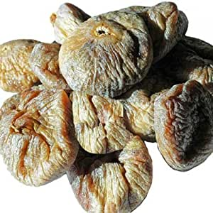 Indus Organics Turkish Jumbo Dried Figs, 1 Lb Bag, Sulfite Free, No Added Sugar, Premium Grade, Freshly Packed