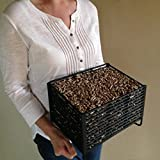 Wood Pellet Basket Heater, Alternative Heating Source Using Wood Pellets in Your Wood Stove or Fireplace For Sale