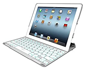 zagg profolio ultrathin case with backlit bluetooth keyboard for ipad 2 ipad 3. Black Bedroom Furniture Sets. Home Design Ideas