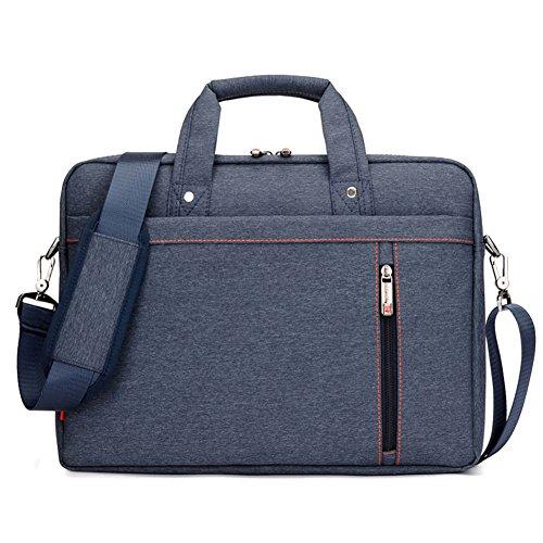 Lemberg) wasserabweisend 38,1cm Business Notebook shoudlder Tasche Messenger Umhängetasche Aktentasche blau blau blau