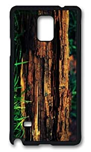 MOKSHOP Adorable decayed tree trunk Hard Case Protective Shell Cell Phone Cover For Samsung Galaxy Note 4 - PCB