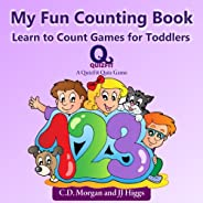 My Fun Counting Book: Learn to Count Games for Toddlers (QuizFit Kindergarten - Preschool Games & Books Bo