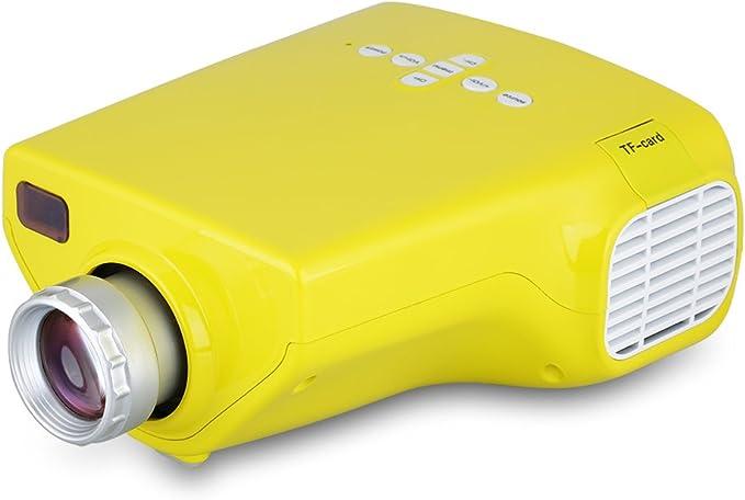 Excelvan E03 - Mini Proyector Portátil 50 Lumenes (16W, Pantalla ...