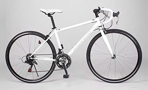 21Technology 700cロードバイク CL27-700 シマノ14段変速 B0093FN97Yホワイト