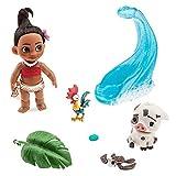Disney Animators' Collection Moana Mini Doll Play Set