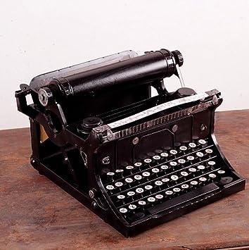 BO @ máquina de escribir hacer el viejo hierro forjado de metal modelo hecho a mano