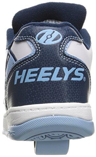 Heelys Powder Shoe Kid Kid Propel Blue Big Navy Skate White Little 0 2 gArTPwxg