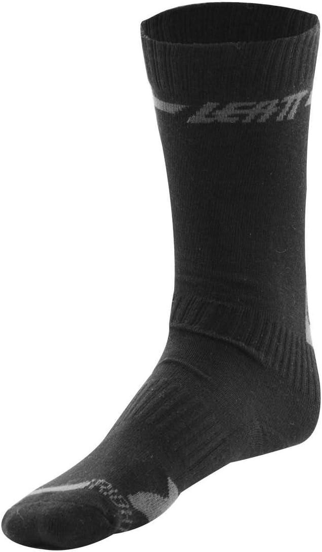 Black//Small Leatt Brace DBX Pair Mens BMX Socks
