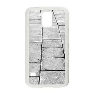 Tyquin Cobblestone Alley Samsung Galaxy S5 Case, Case For Samsung Galaxy S5 For Women {White}