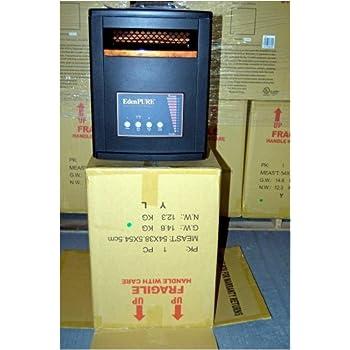 amazon com edenpure gen3 model 1000 quartz infrared heater home rh amazon com EdenPURE Gen 3 Manual EdenPURE 1000XL Diagram