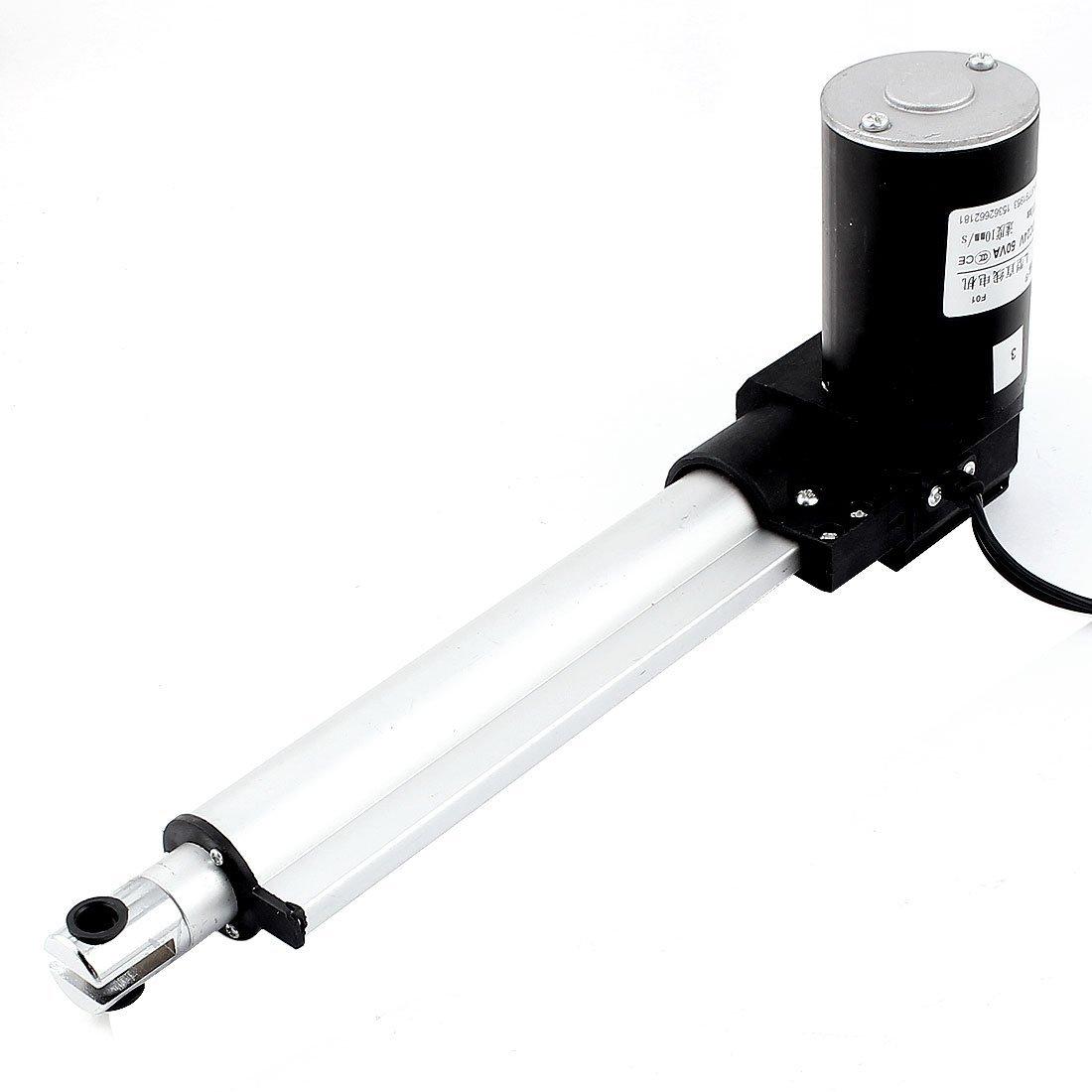 DC 24V 8 Stroke el/éctrico actuador lineal del motor multifunci/ón de 10 mm s