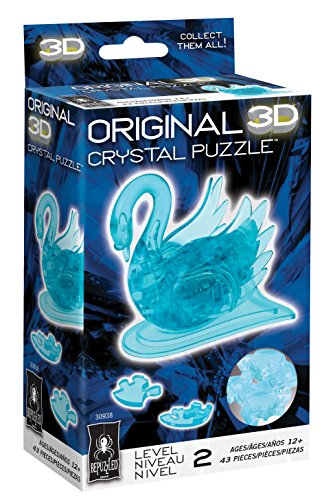 Original 3D Crystal Puzzle - Swan - Import It All