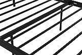Novogratz Marion Canopy Bed Frame, Black, Twin